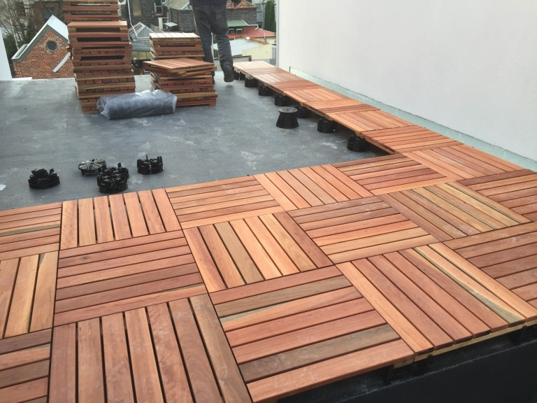 VersiPave specified for prefabricated Timber Tiles2