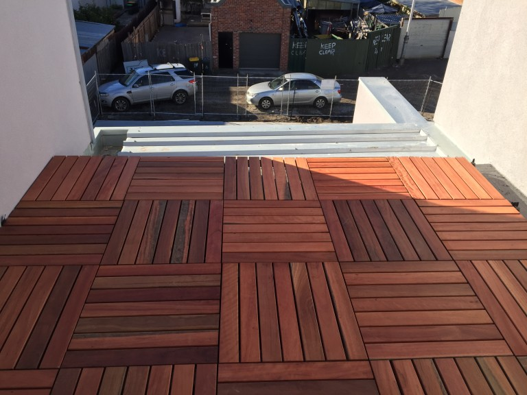 VersiPave specified for prefabricated Timber Tiles4